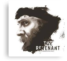 The Revenant Movie logo face Tom Hardy Canvas Print