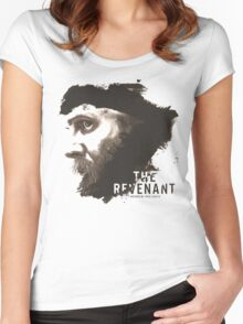 The Revenant Movie logo face Tom Hardy Women's Fitted Scoop T-Shirt