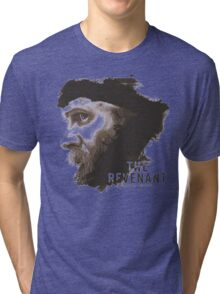 The Revenant Movie logo face Tom Hardy Tri-blend T-Shirt