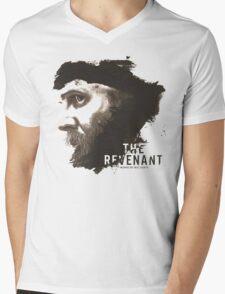 The Revenant Movie logo face Tom Hardy Mens V-Neck T-Shirt