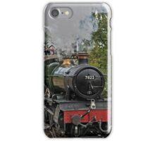 Locomotive Steam Train Llangollen Railway Station iPhone Case/Skin