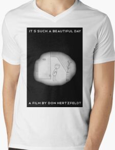 It's Such A Beautiful Day Mens V-Neck T-Shirt