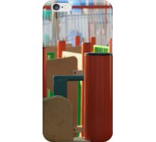 Colored Lines iPhone Case/Skin