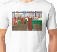 Colored Lines Unisex T-Shirt