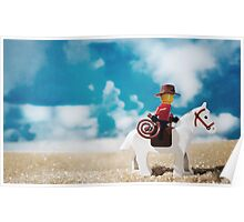 Untitled (cowboy) Poster