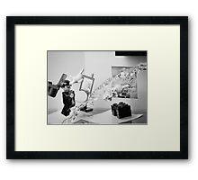Dalí Atomicus Framed Print