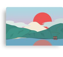 Mt Fuji from Hakone National Park Canvas Print