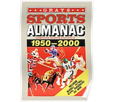 Grays Sports Almanac - Back to the Future Poster