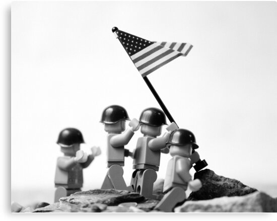 Iwo Jima by Mike Stimpson