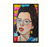 Dawn Weiner - Welcome to the Dollhouse  Art Print