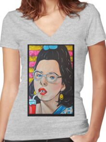 Dawn Weiner - Welcome to the Dollhouse  Women's Fitted V-Neck T-Shirt