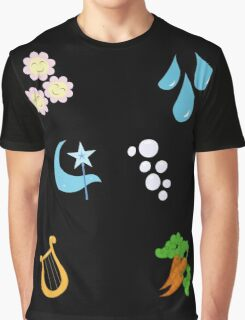 My little Pony - Elements of Harmony Cutie Mark Special V3 (Lunaverse) Graphic T-Shirt