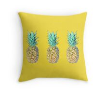 New pineapple 2016 Throw Pillow