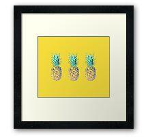 New pineapple 2016 Framed Print