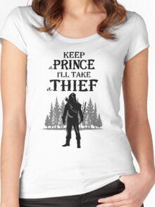 Robin Hood OUAT T-Shirt Women's Fitted Scoop T-Shirt