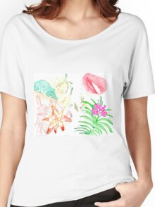 Nature and flower Women's Relaxed Fit T-Shirt