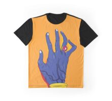 Everything everything - Blue hand Graphic T-Shirt