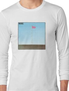 Wire - Pink Flag Long Sleeve T-Shirt