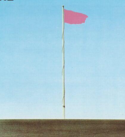 Wire - Pink Flag Sticker