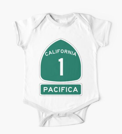 PCH - CA Highway 1 - Pacifica One Piece - Short Sleeve