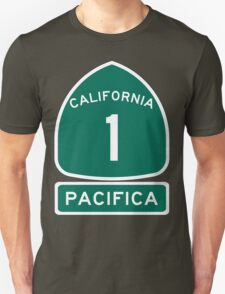 PCH - CA Highway 1 - Pacifica Unisex T-Shirt