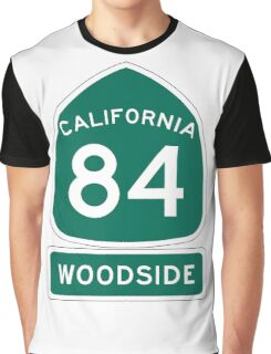 CA-84 - Woodside Graphic T-Shirt