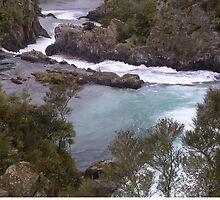 Aratiatia Outflow From Rapids by lezvee