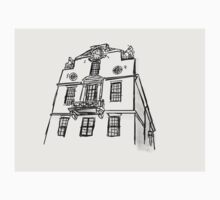 Boston State House Sketch Kids Tee