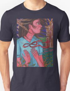 Mysterious Girl Unisex T-Shirt