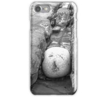 The squashed rock face iPhone Case/Skin