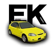 Civic EK  by Klaaamotte