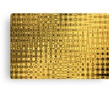 gold barock luxus baroque luxury noble Canvas Print