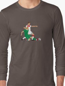 James McClean putting manners on Julian Draxler Long Sleeve T-Shirt