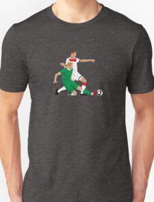 James McClean putting manners on Julian Draxler T-Shirt