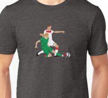 James McClean putting manners on Julian Draxler Unisex T-Shirt