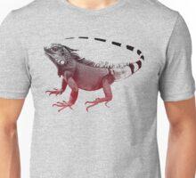 Iguana, red Iguana Unisex T-Shirt