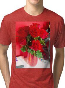 Rosebud. Tri-blend T-Shirt
