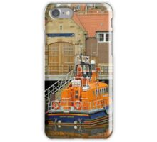 Whitby Lifeboat and Lifeboat Station iPhone Case/Skin
