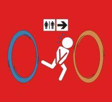Portal toilet One Piece - Long Sleeve