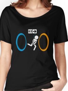 Portal toilet Women's Relaxed Fit T-Shirt