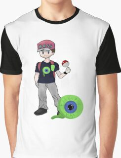 Jacksepticeye Pokemon Trainer Graphic T-Shirt