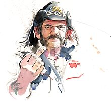 Lemmy. Lead singer of Motorhead. by Gary Wing