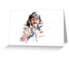 Lemmy. Lead singer of Motorhead. Greeting Card