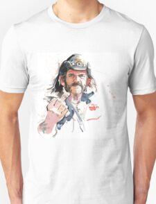 Lemmy. Lead singer of Motorhead. Unisex T-Shirt