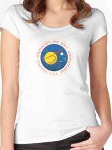Seal of NASA  Women's Fitted Scoop T-Shirt