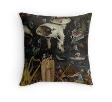 Boschilicious Throw Pillow