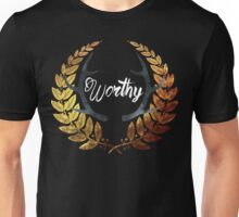 Crowned Worthy Dark Unisex T-Shirt