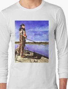 The Reel Expert Long Sleeve T-Shirt