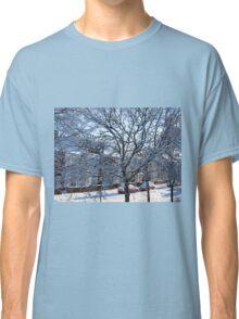 A Winter Street Scene Classic T-Shirt