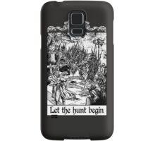 Bloodborne - Let the hunt begin Samsung Galaxy Case/Skin